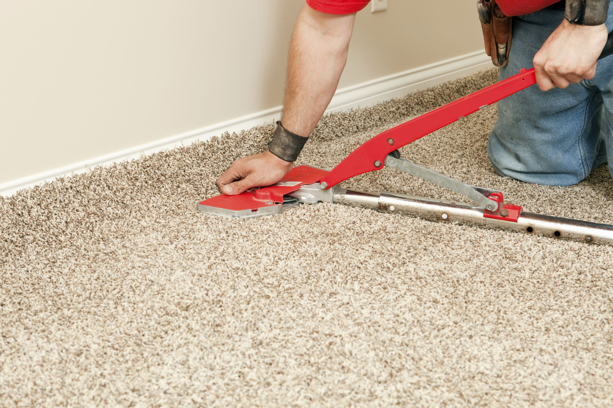 Common Flooring Types Currently Used In Renovation And Building Carpet On Concrete Floor Detail Under Wiring System
