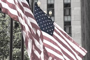 American Flags do not need ITAR compliance