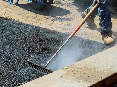 Low Section Of Man Working