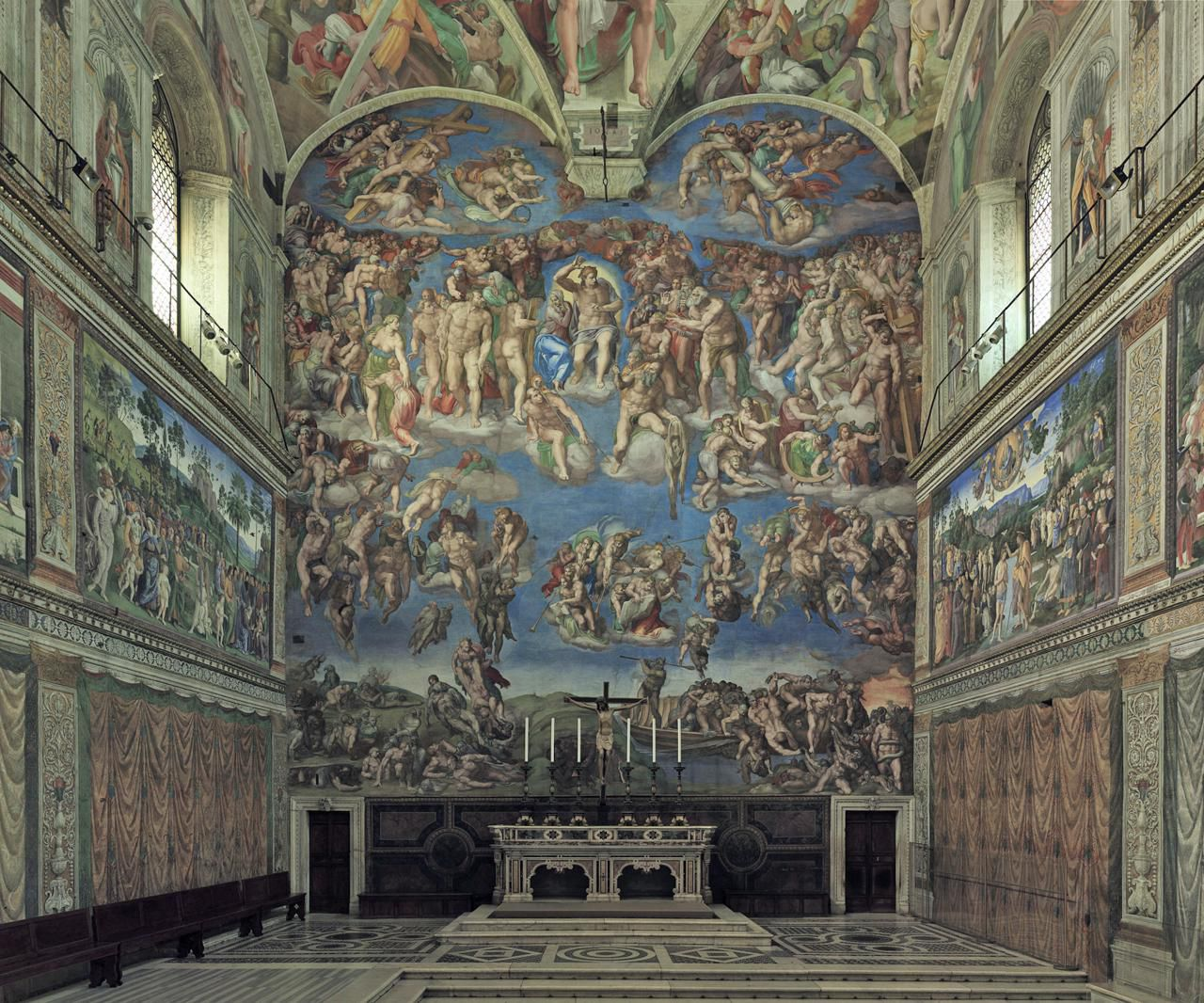 Building History And Architectural Details Of The Sistine