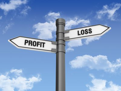 Directional Sign with Loss Profit Words