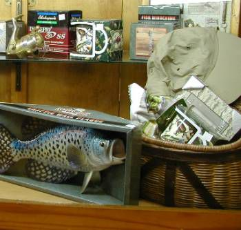Father's Day Fishing Gift Display