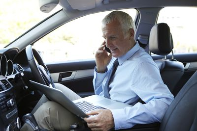 business driving, business travel