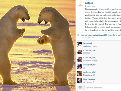 Nat Geo's Instagram puts far-flung places in the palm of your hand.