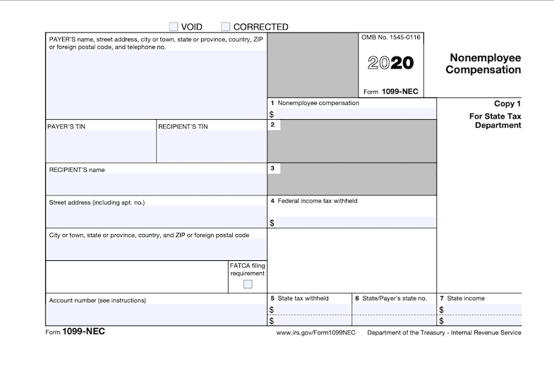 Form 1099-NEC: What Is It?