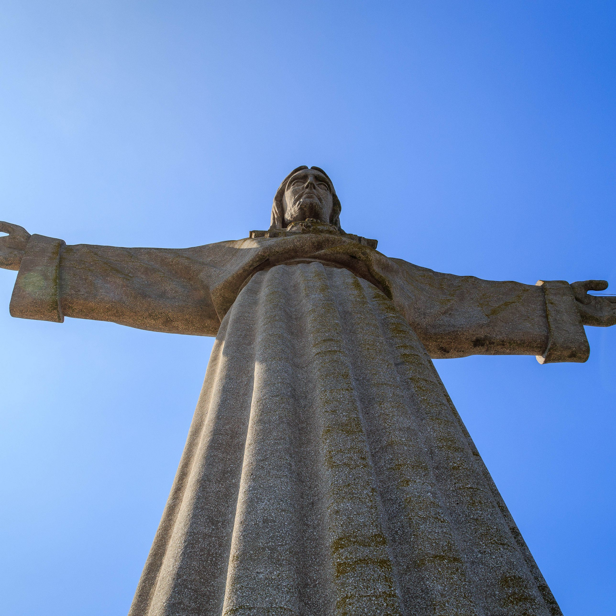 The Construction Of Brazil S Christ The Redeemer Statue