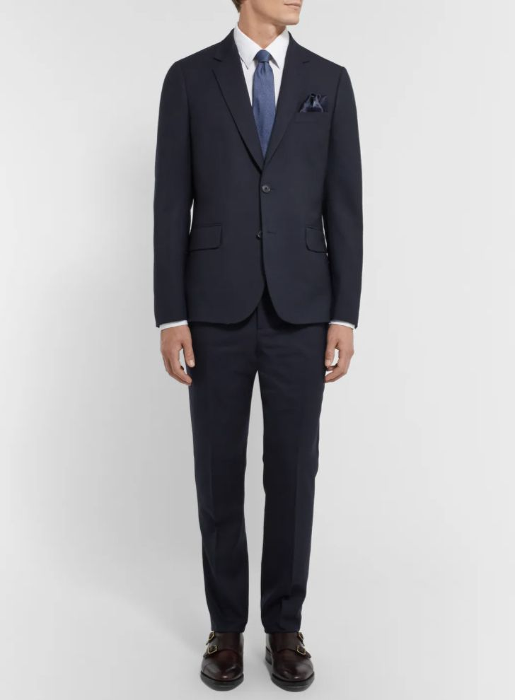Paul Smith A Suit To Travel In Soho Slim-Fit Wool Suit