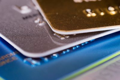 Corporate credit cards for employees good news and the bad close up of credit cards reheart Gallery