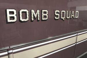 Bomb squad vehicle