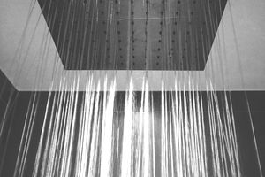 Low angle view of a shower.