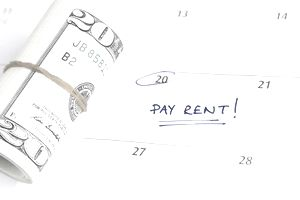 Picture of Late Fee for Late Rent Payment