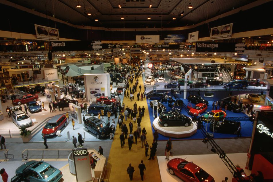 Motor Show at Earls Court, London