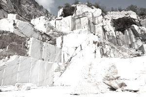 Marble quarry in Carrara, Italy