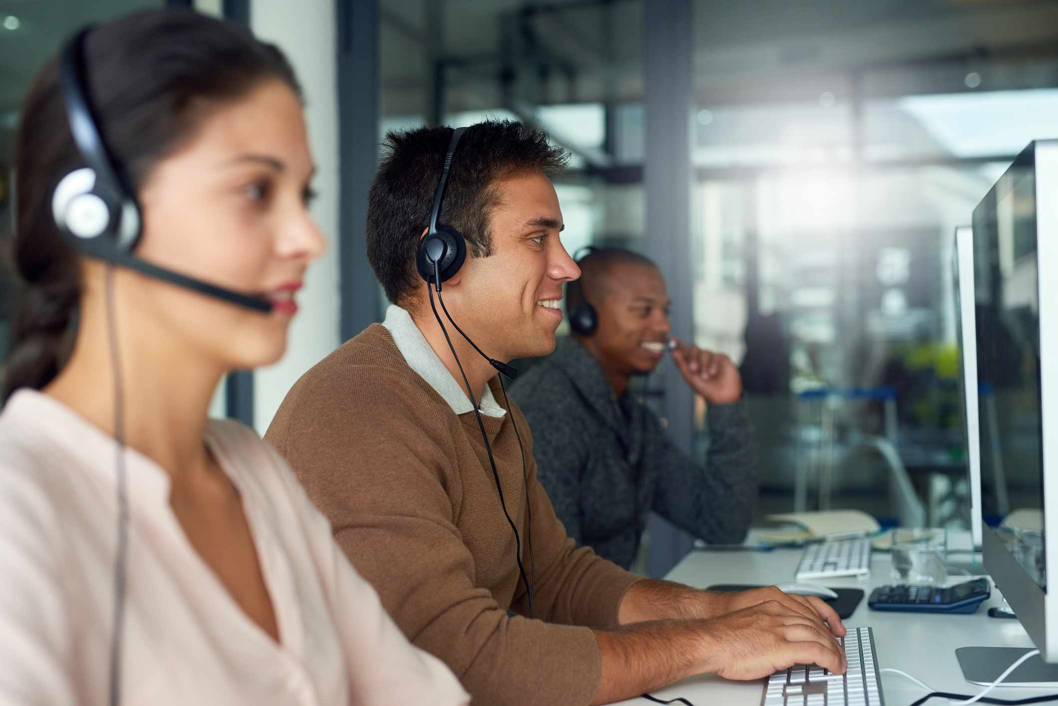 Professional business answering service