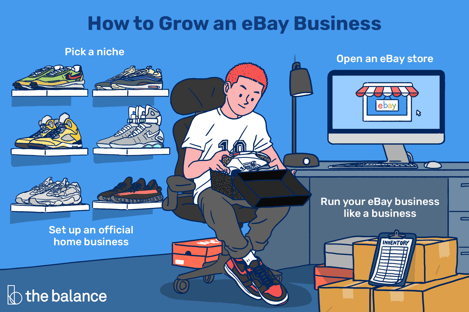 9 Steps To Make A Living Selling On Ebay