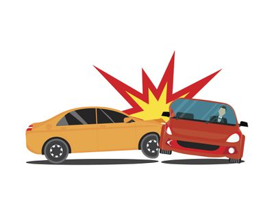 Accident involving two cars