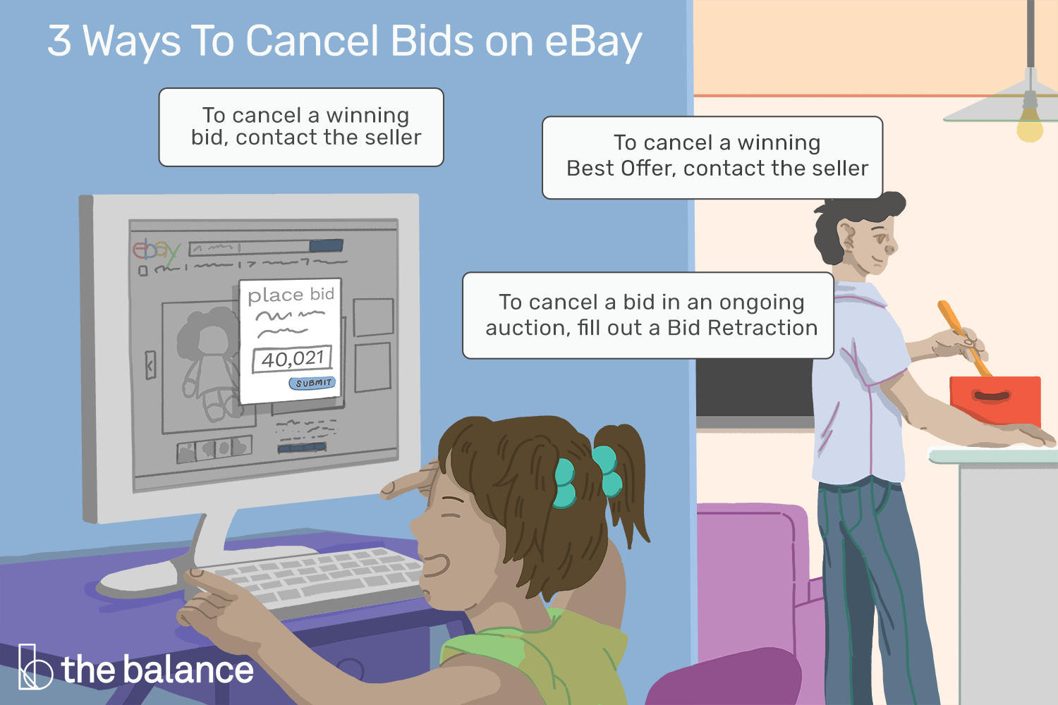 How To Cancel Bids On An Ebay Auction