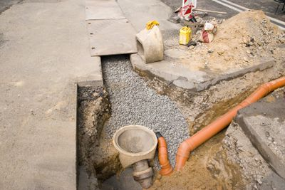 Installing a Residential Sewer Line
