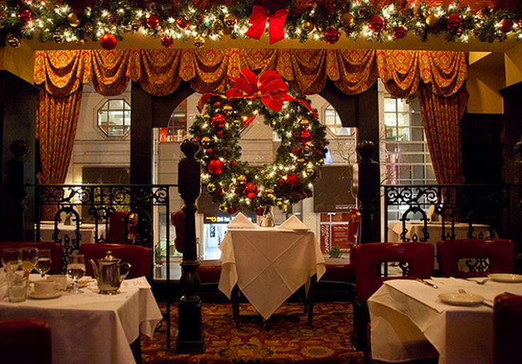 Christmas Restaurant.Restaurant Guide To Holiday Promotions