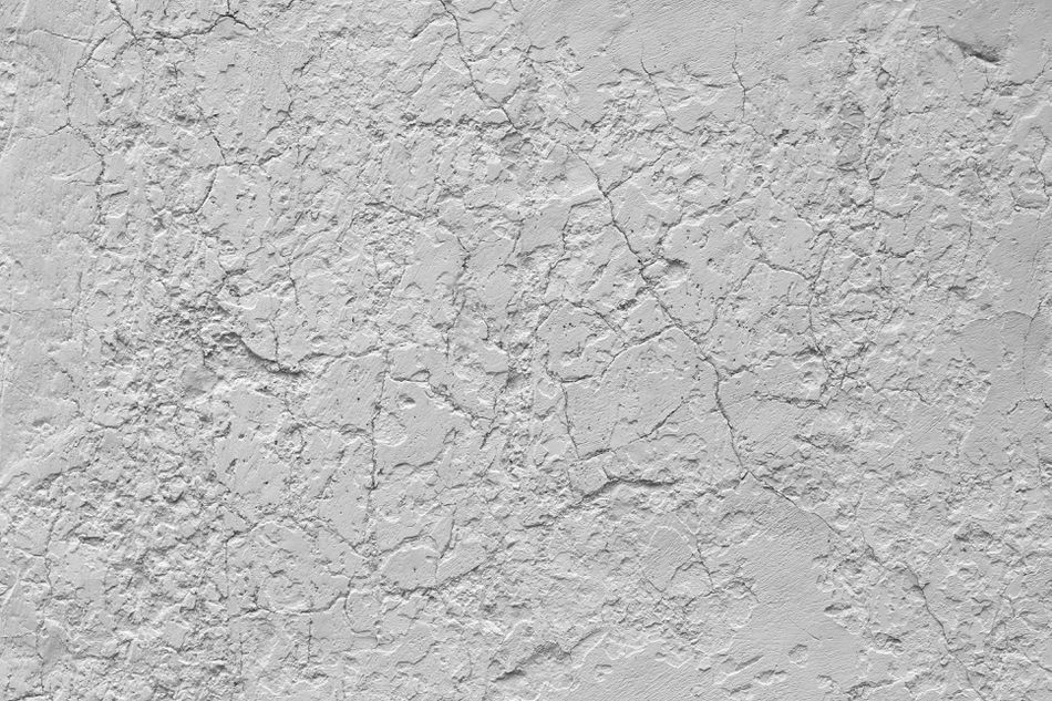 White weathered wall texture