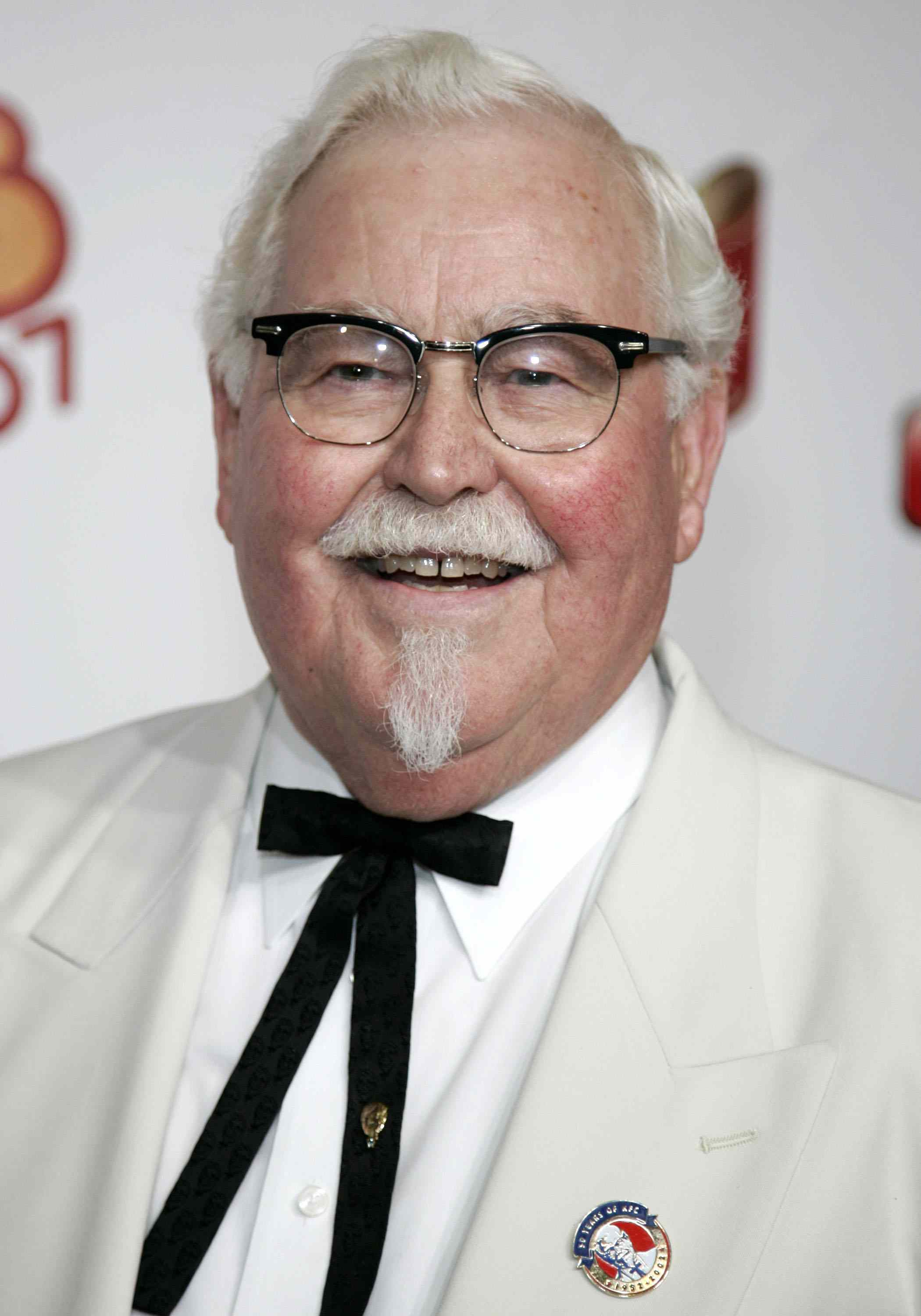 Colonel Sanders began cooking and serving fried chicken at his gas station when he was 40.