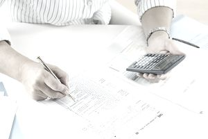 Business Owner figuring their Self-employment Tax due