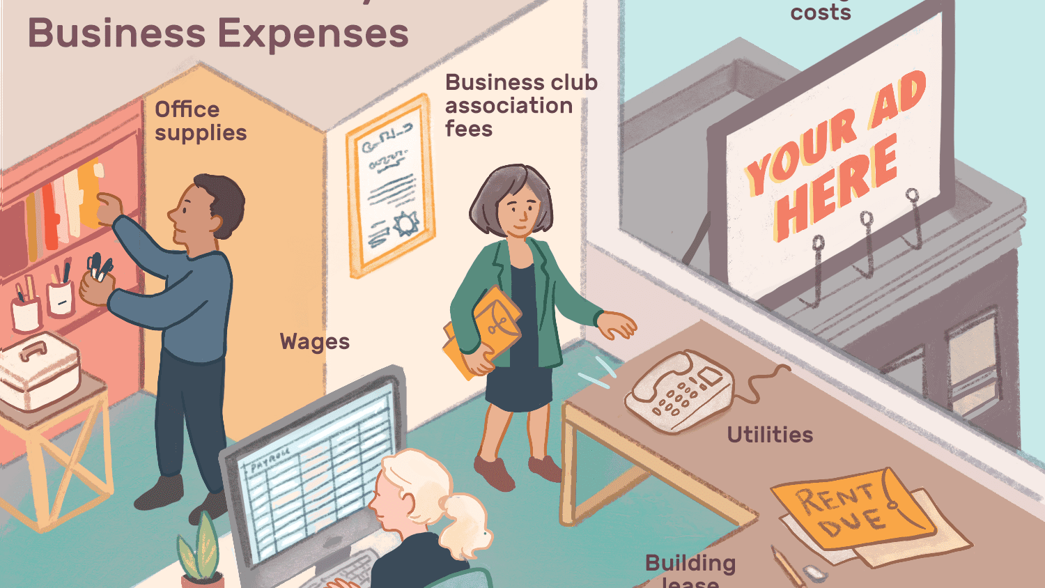 Common Monthly Business Expenses to Include in a Budget