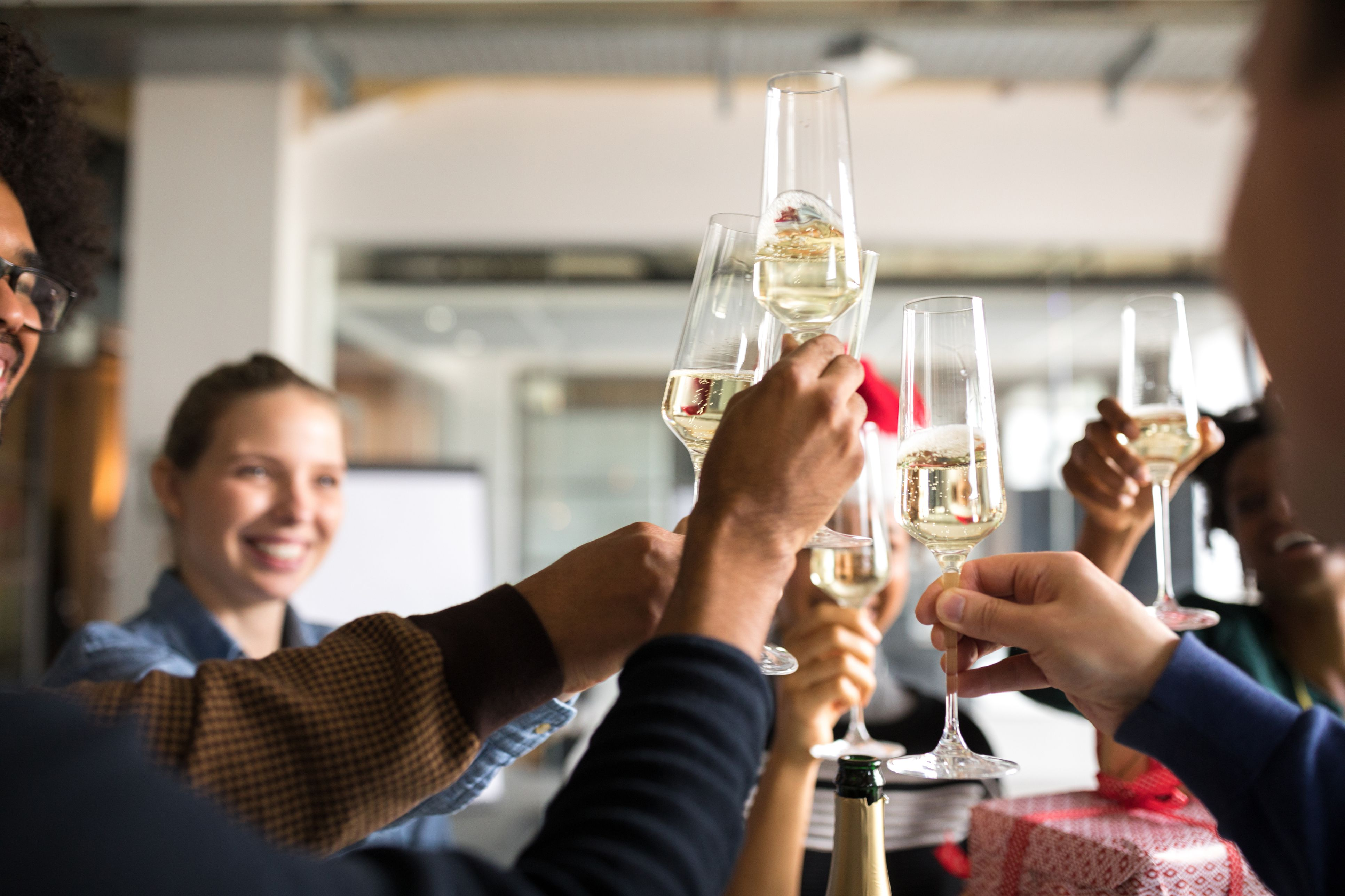 a fun list of holiday work party ideas