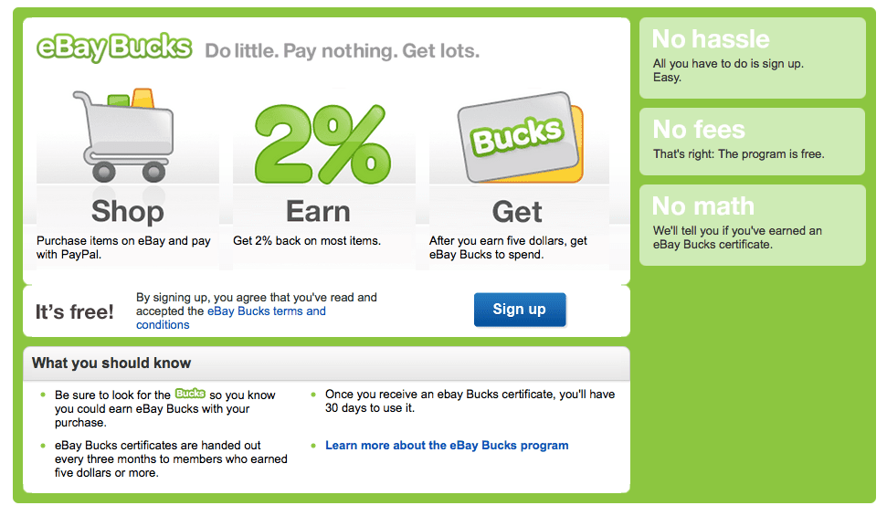 How To Earn Rewards With Ebay Bucks