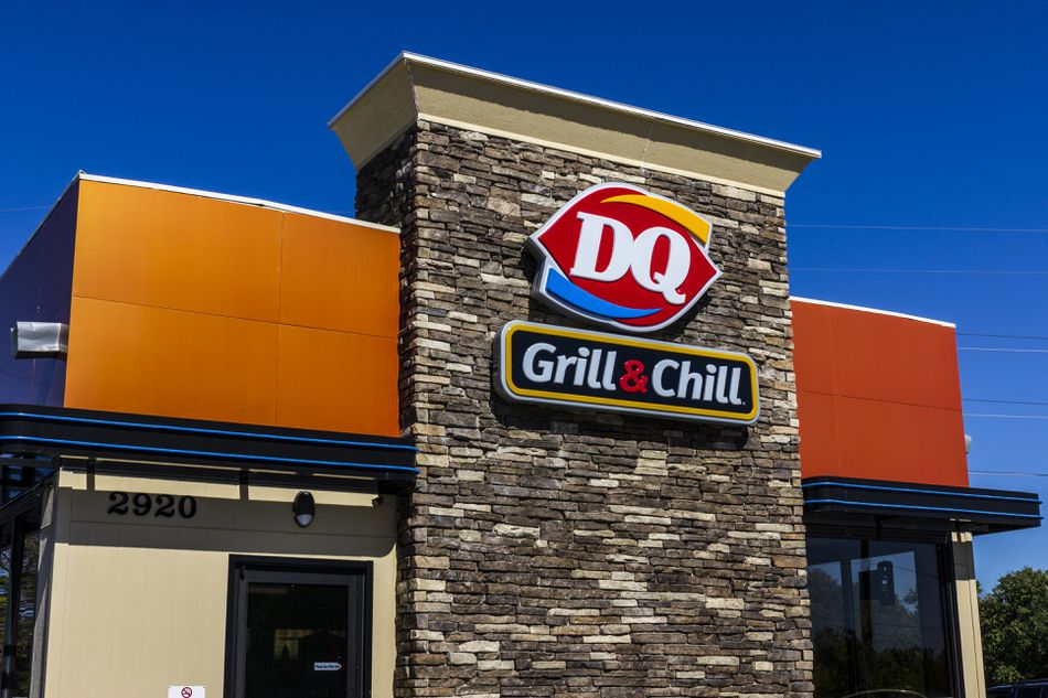 Dairy Queen Retail Fast Food Location IV