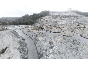 Oso mudslide from above