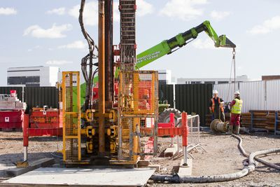 A geothermal energy project by Newcastle University, UK.