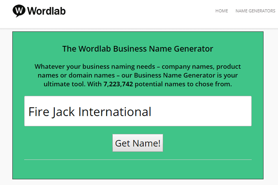 10 Awesome Free Business Name Generators