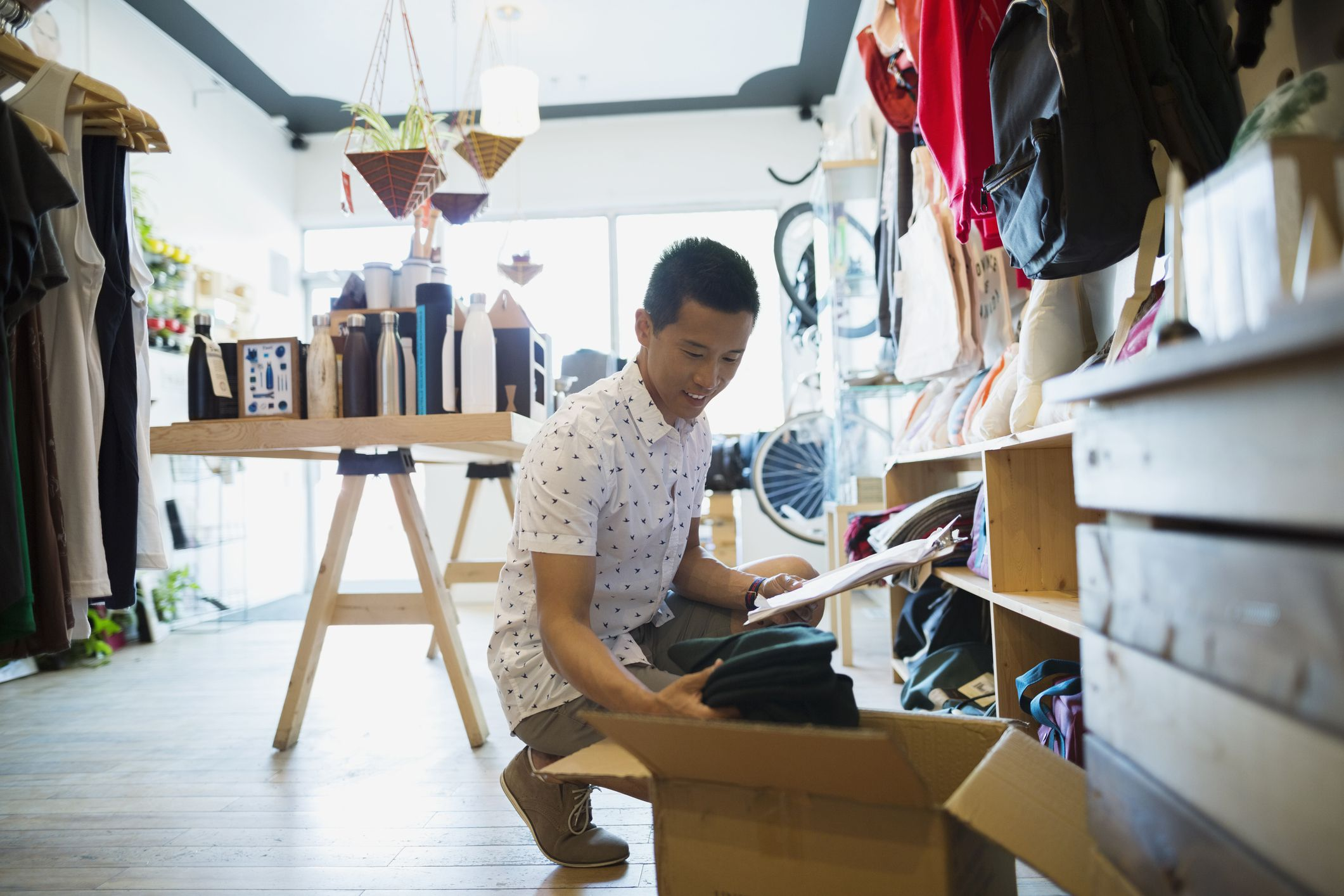 How Much Inventory Should My Small Business Hold?