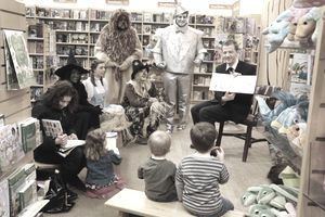 Barnes and Noble Story Time