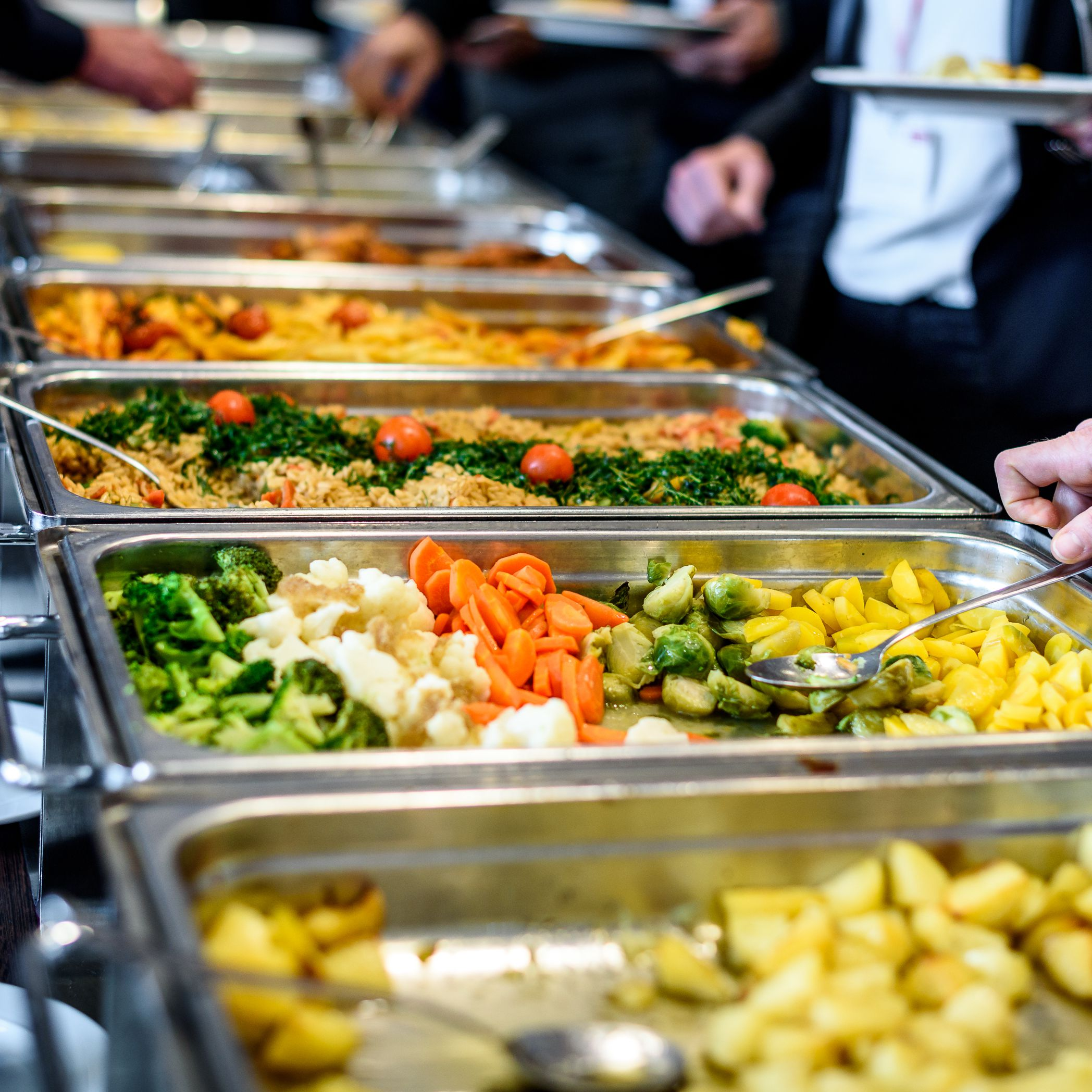 Trend Food Ideas For Lunch Buffet