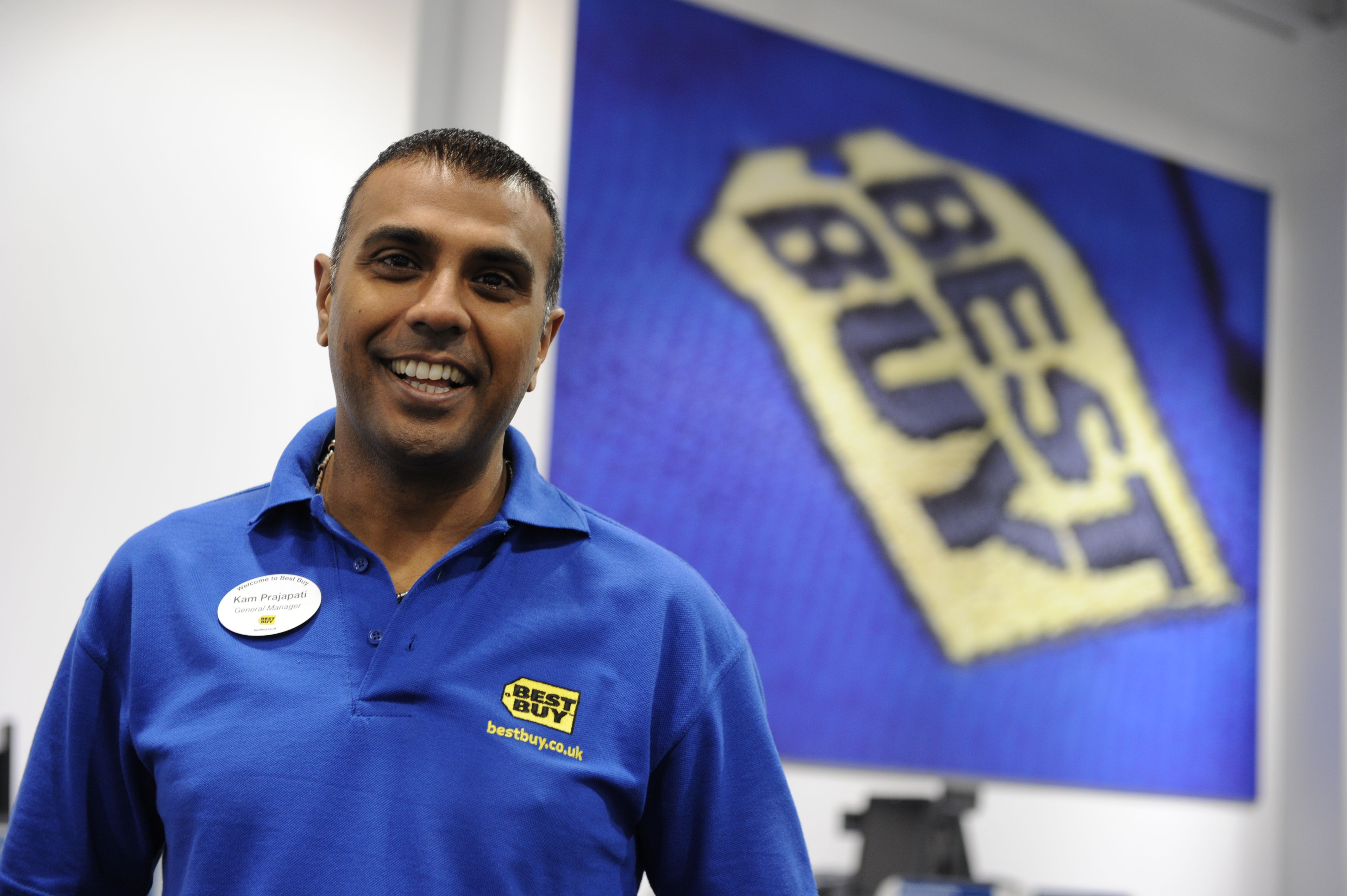 Best Buy store and employee