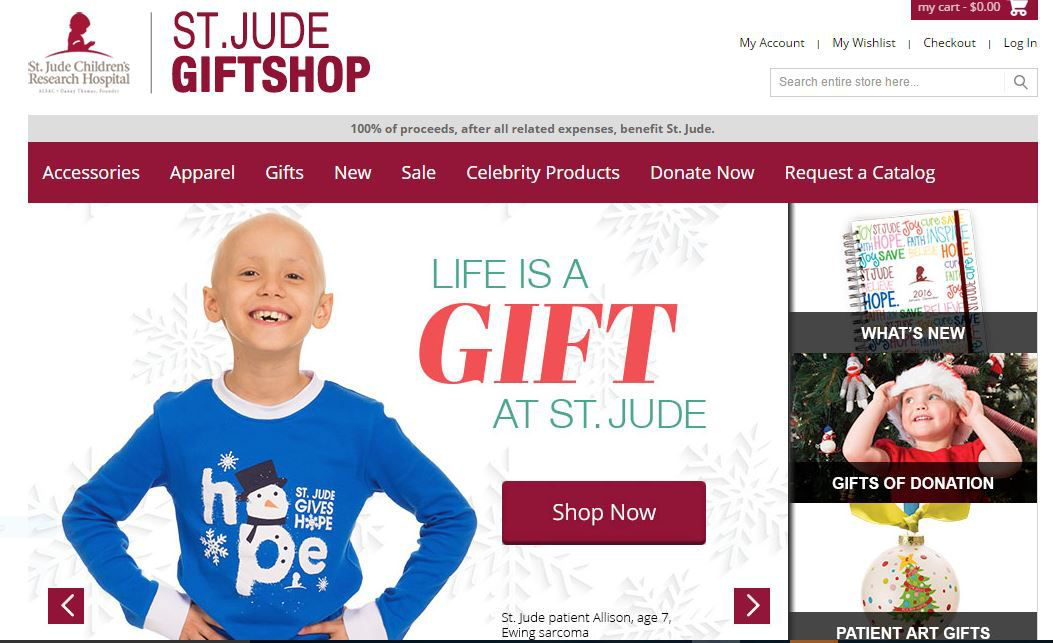 St. Jude Gift Shop. Get toys here that will give back this holiday season.