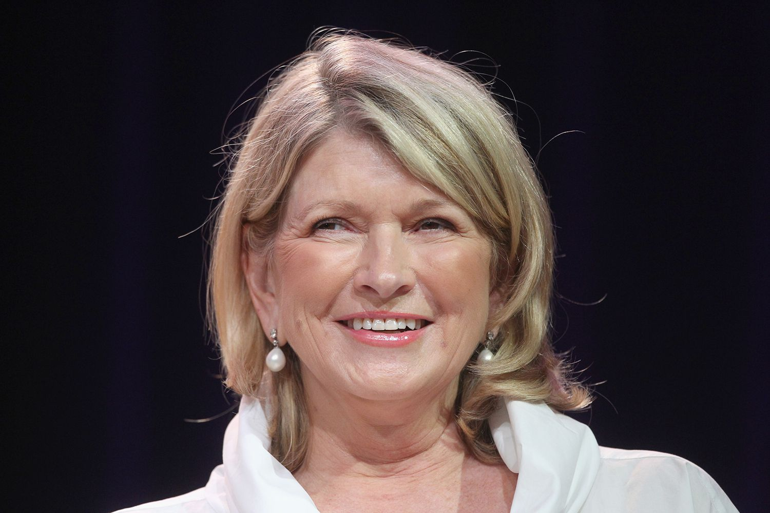 Martha Stewart's first business was in catering.