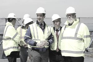 Construction project management team