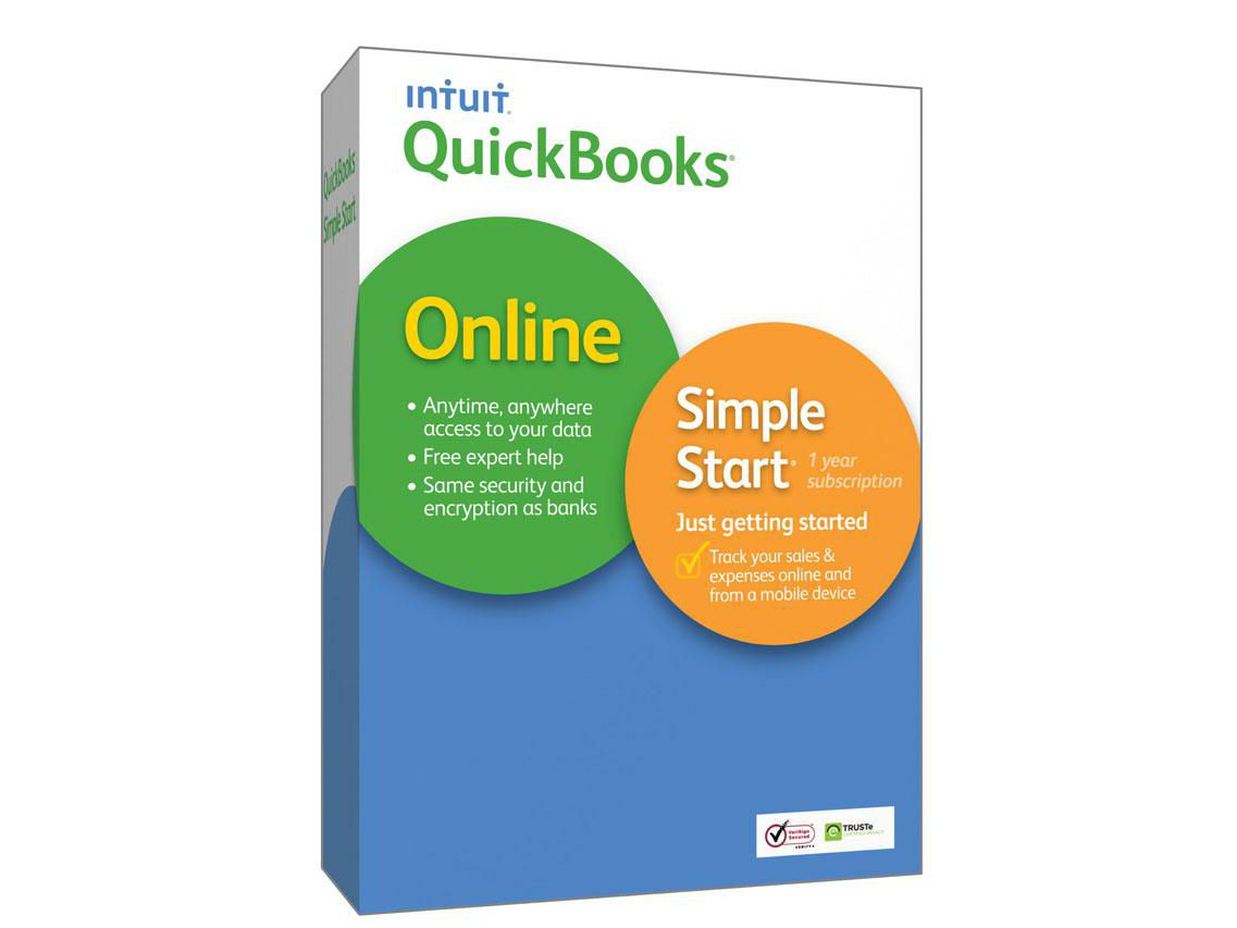 QuickBooks Online Simple Start Accounting Software