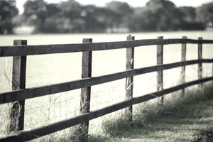 A fence line divides property lines and prevents adverse possession.