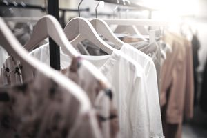 Clothing on hanger