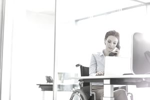 Disabled home-based worker