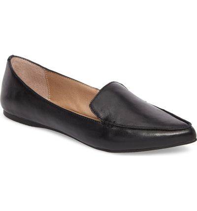 e1bc1552923 Best Loafers  Steve Madden Feather Loafer Flat