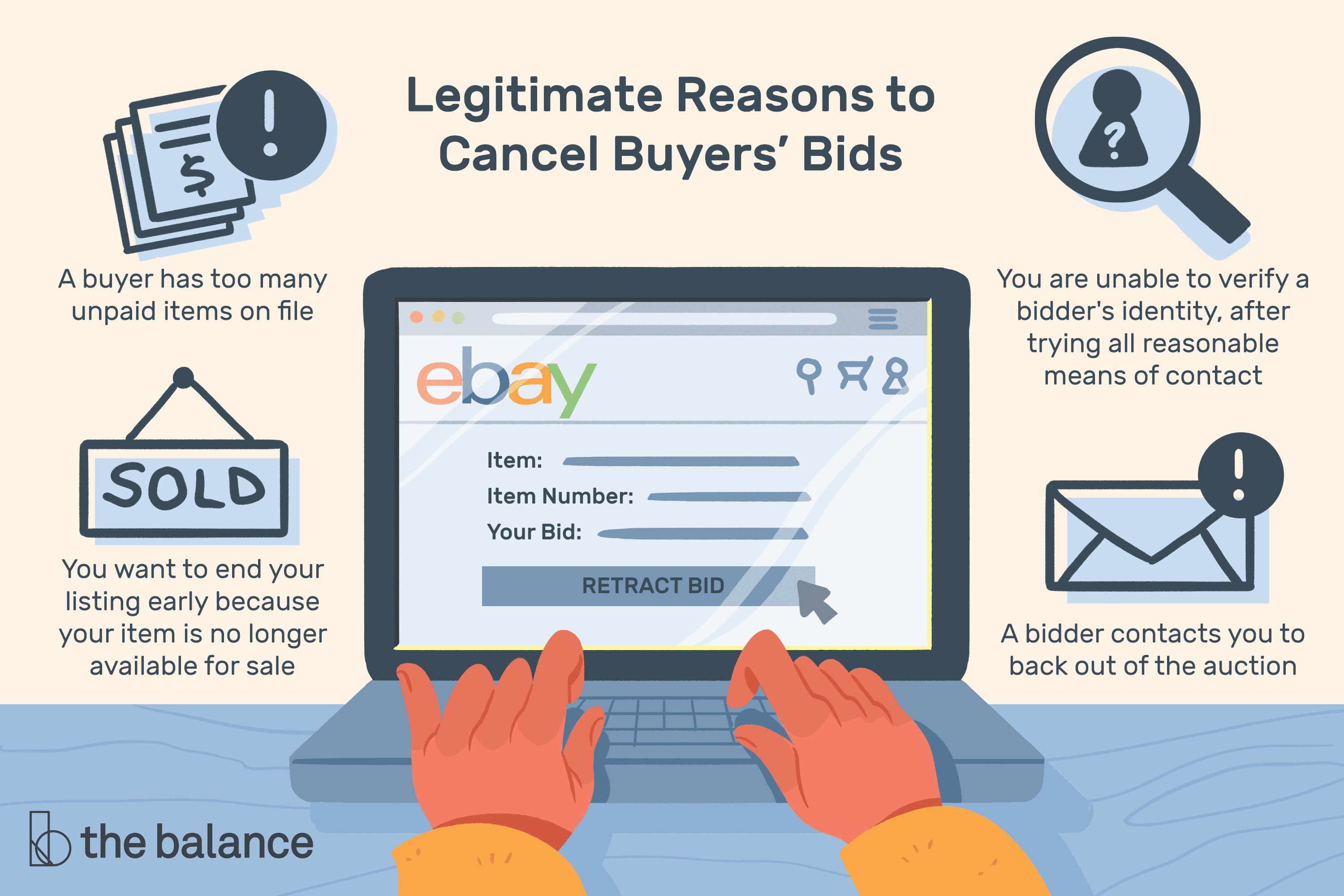 How To Remove A Bid On Ebay >> Can Ebay Sellers Cancel Bids And Block Buyers