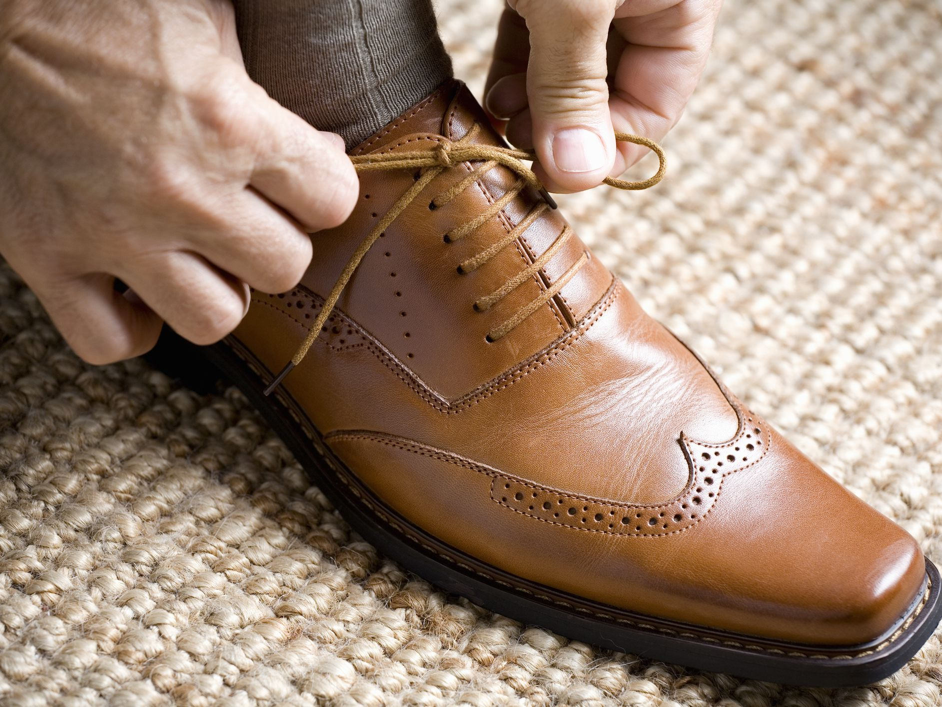 Men's Casual Shoes Spring Leather One-legged Versatile Mens Shoes Wide Varieties
