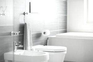 Where to Install a Towel Bar and Other Bath Accessories on