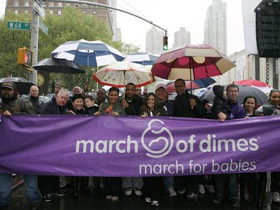 2010 March Of Dimes March For Babies