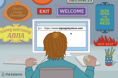 This illustration shows a website domain name